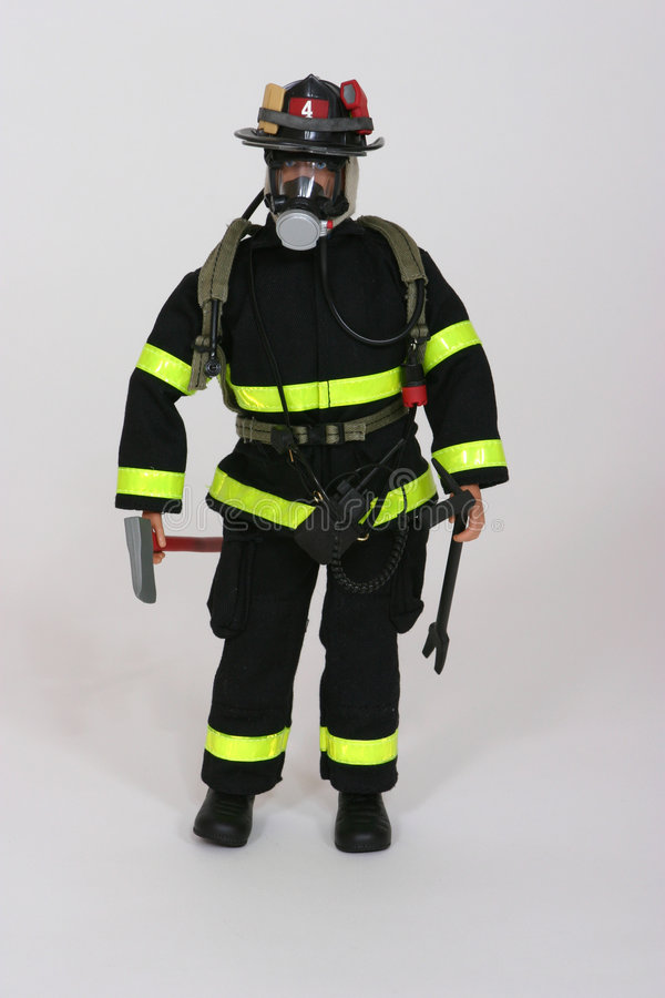 Download Fireman stock image. Image of fire, tools, boots, gear - 109901