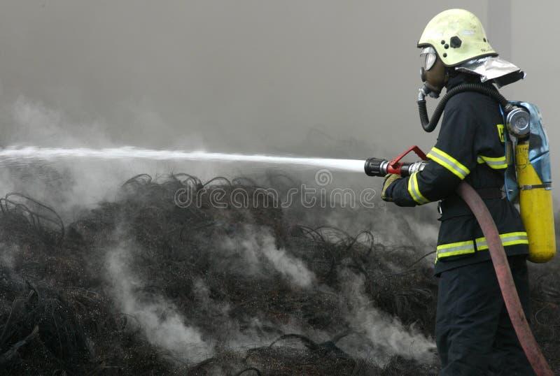 Fireman stock images