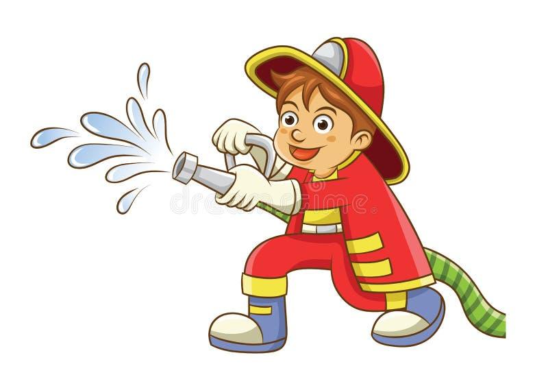 fireman ilustração do vetor