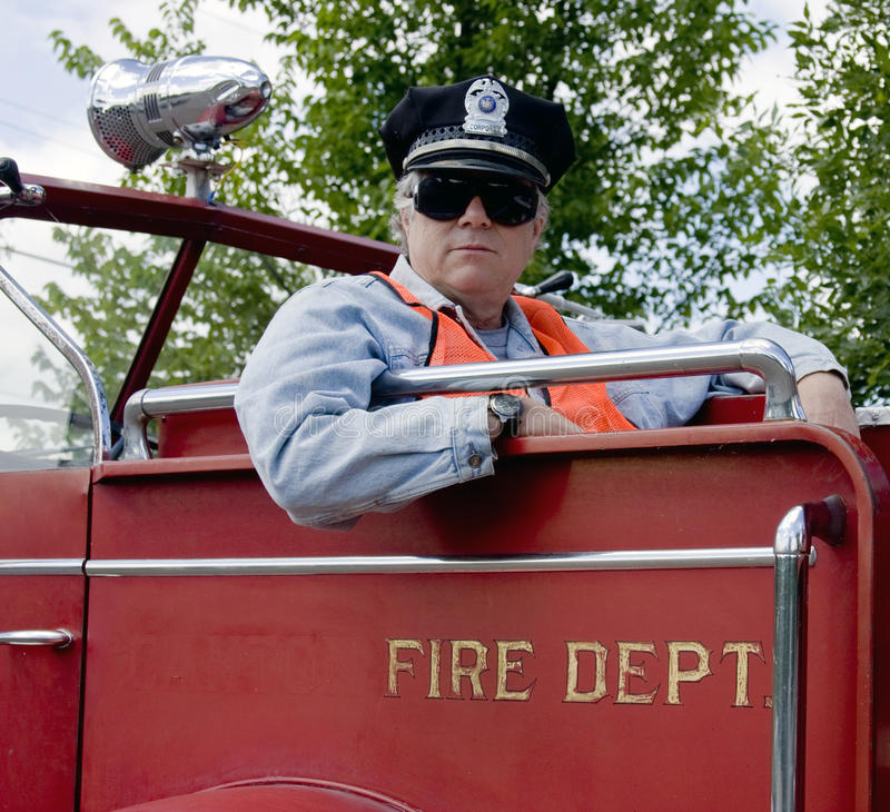 Download Fireman officer stock photo. Image of protect, firetruck - 14943668