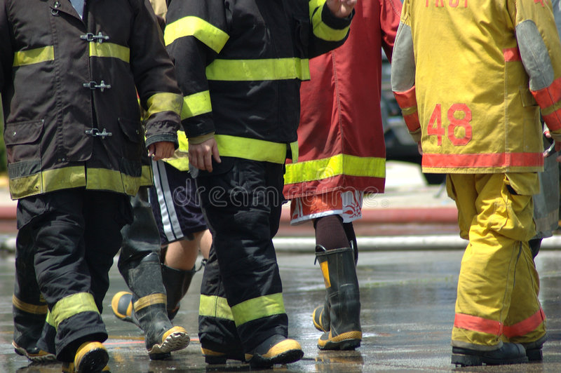 Download Firemen stock photo. Image of service, fire, hose, public - 163340
