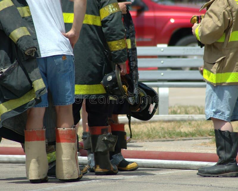 Firemen Royalty Free Stock Photo