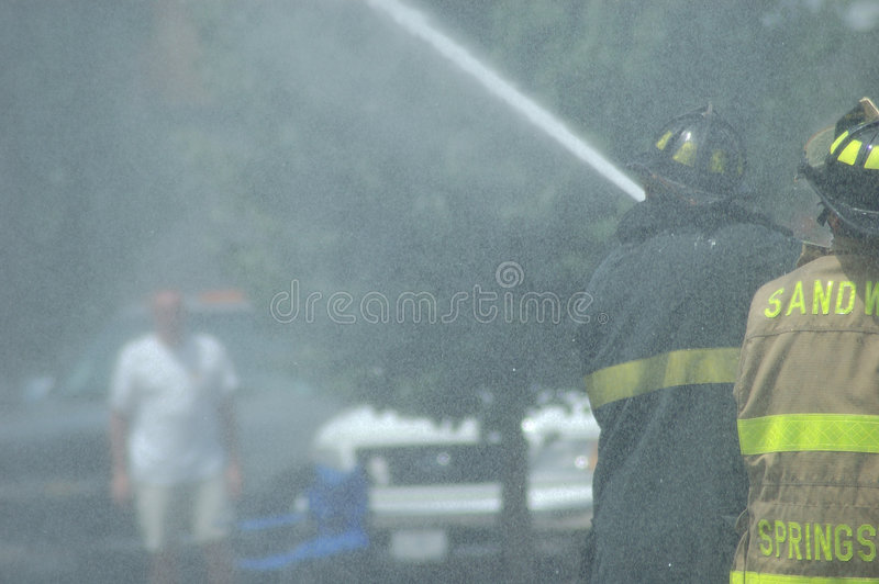 Download Firemen stock photo. Image of safety, flames, blaze, ambulance - 163352