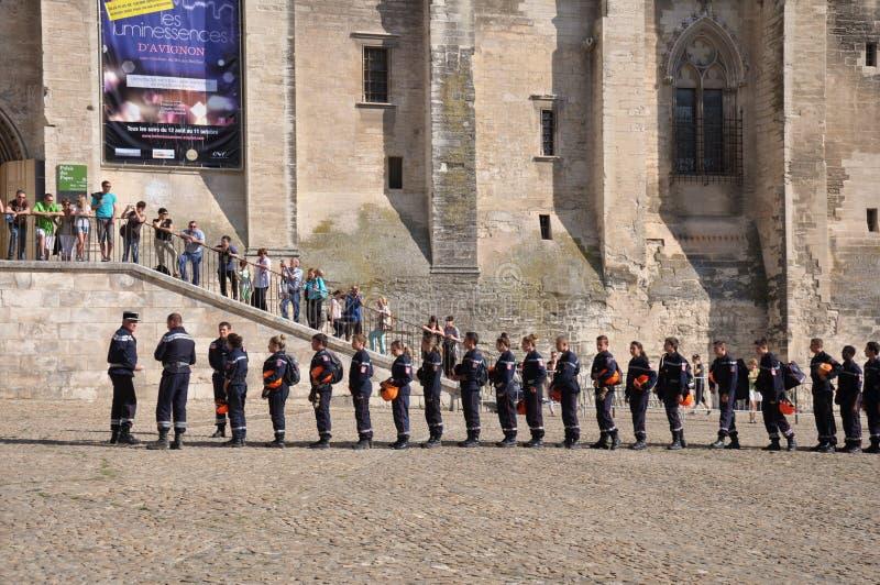 firemen fotografie stock libere da diritti