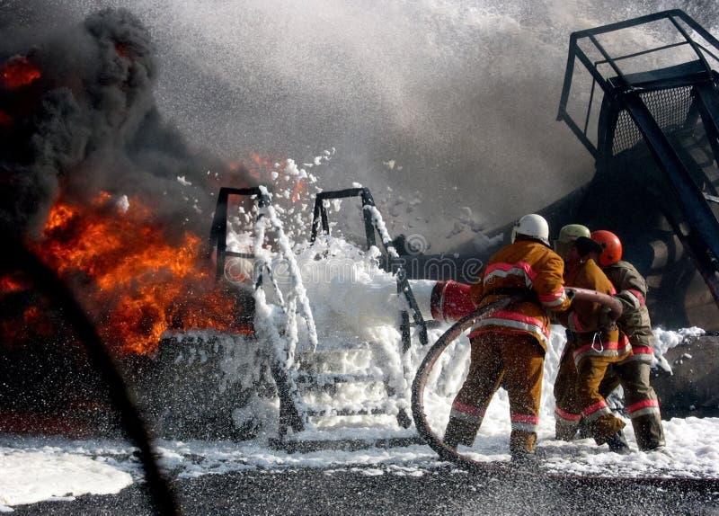 firemens fotografia stock