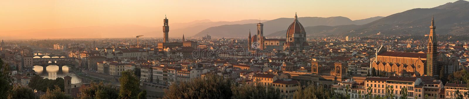 Firenze. This is a panorama photo from Firenze royalty free stock image