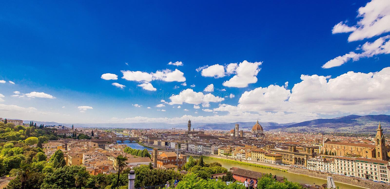 Firenze arkivfoto