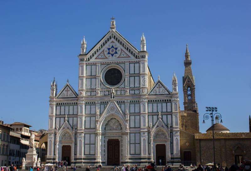 FIRENZE FIRENZE - chiesa di Santa Croce a Firenze a Firenze, Toscana, Italia immagini stock