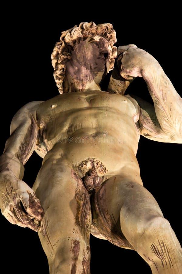 Firenze, David Michelangelo fotografie stock libere da diritti