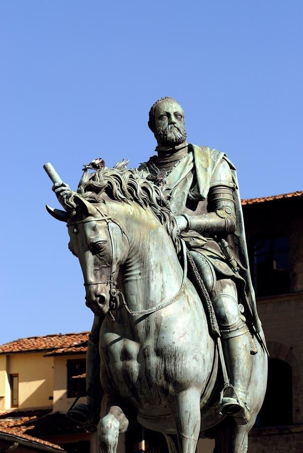 Firenze - grande duca Cosimo I fotografia stock libera da diritti