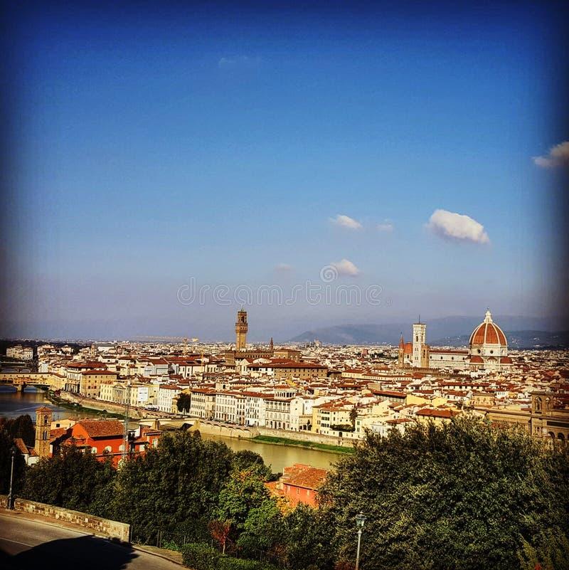 Firenze-Morgen stockfotografie