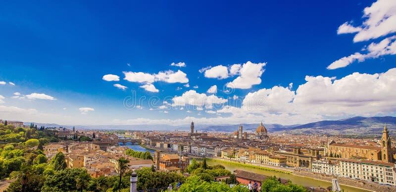 Firenze. Panorama di Firenze estate 2017 stock photo