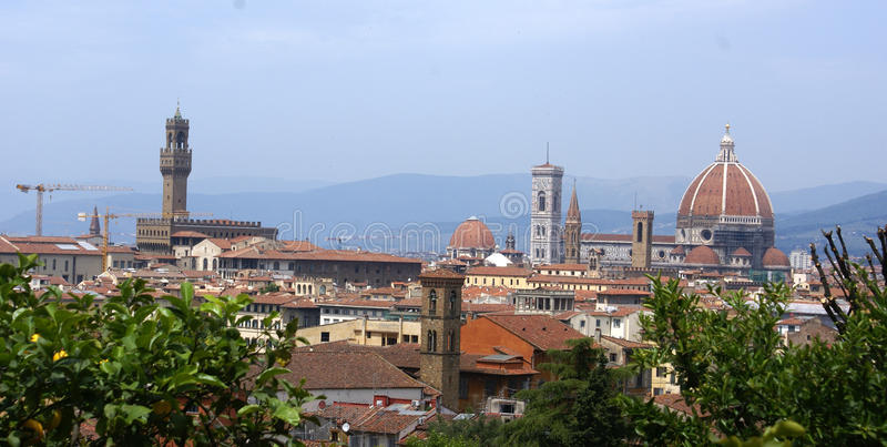 Firenze panorama view stock photos