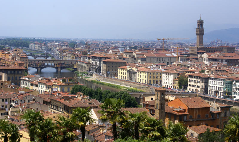 Firenze panorama view royalty free stock photo
