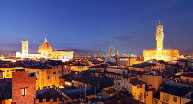Firenze panoramica, Italia fotografia stock