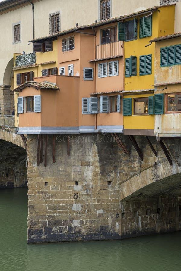 Firenze Ponte Vecchio fotografia stock
