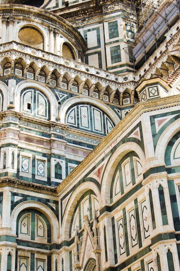 Firenze Santa Maria della Fiore cathedrale royaltyfri foto