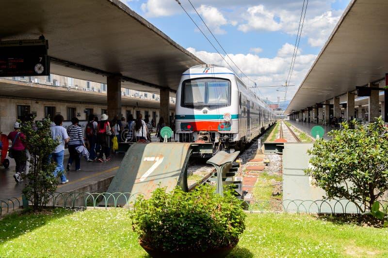 Firenze Santa Maria nowele, terminus stacja kolejowa w Flore obraz stock