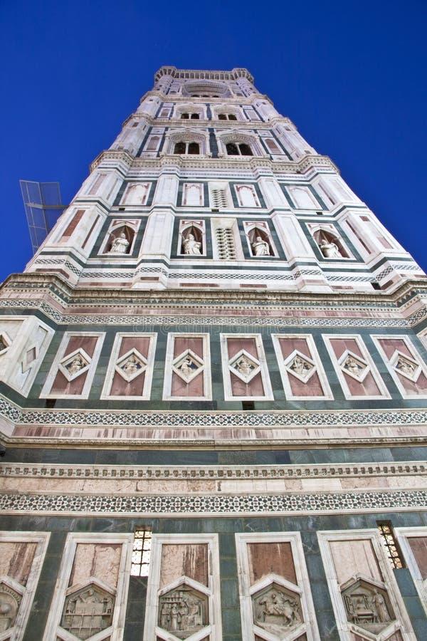Firenze, torretta di Bell del Giotto fotografie stock