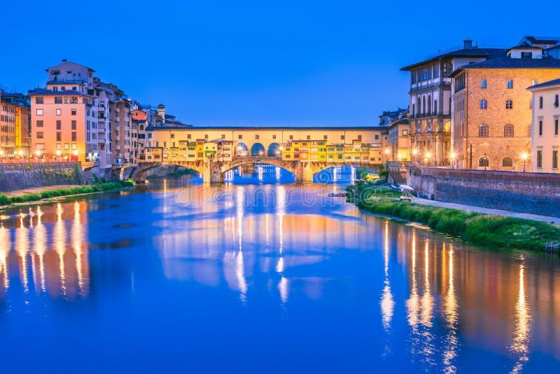 Firenze, Toscana, Italia - Ponte Vecchio fotografia stock