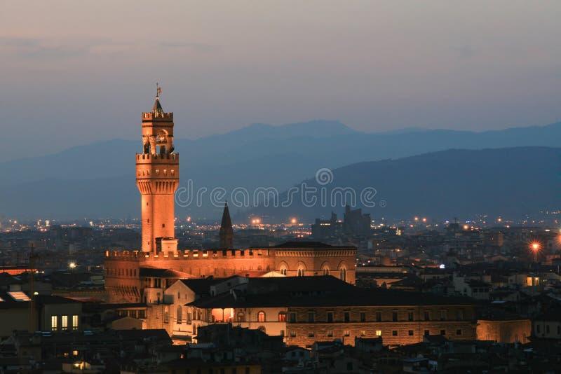 Firenze Vista panoramica della città fotografie stock libere da diritti