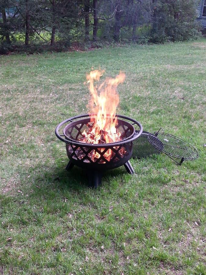 Firepit royalty-vrije stock afbeeldingen