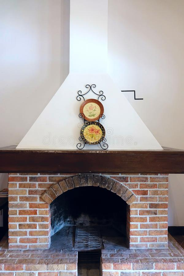 fireplace stock foto's