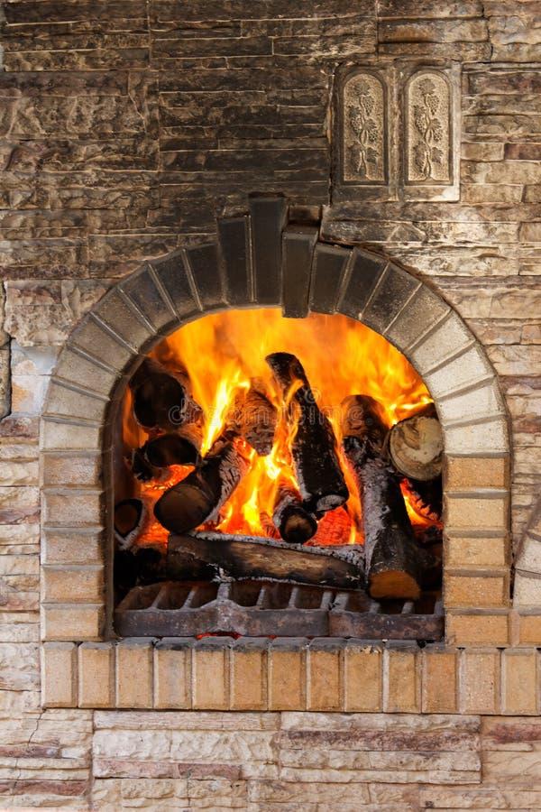 Free Fireplace Royalty Free Stock Photo - 14433145