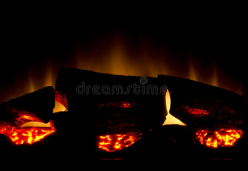 Download Fireplace stock photo. Image of background, flames, electric - 18431284