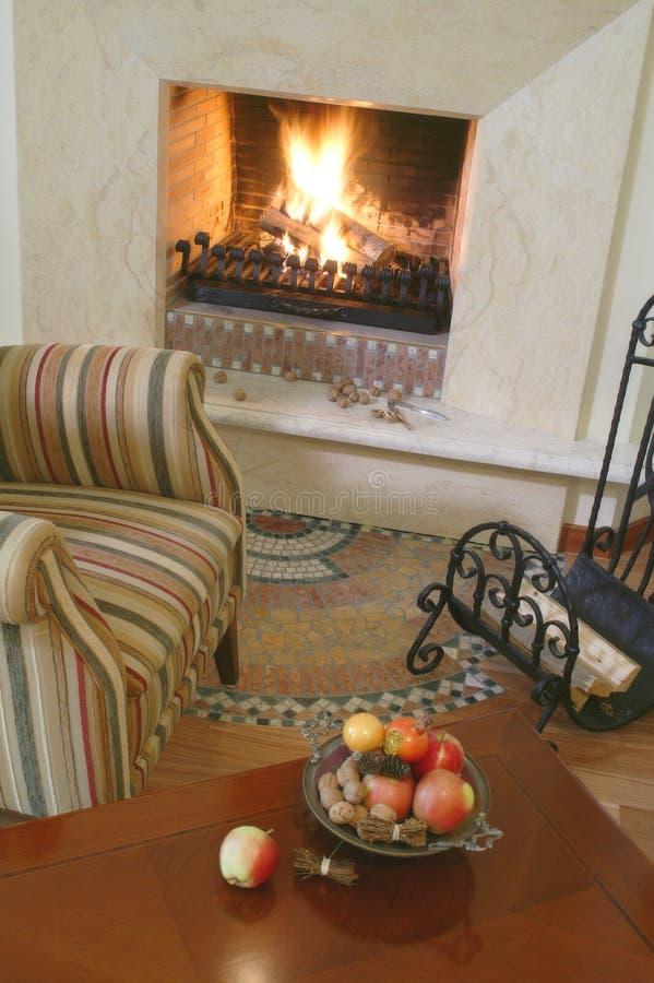 Fireplace#2 stock fotografie