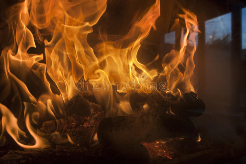 Download Fireplace stock image. Image of industry, intense, flame - 24284775