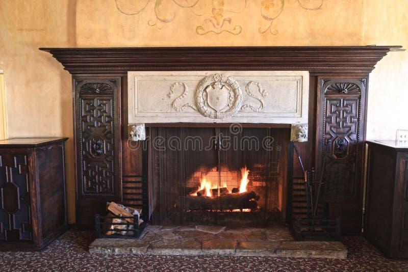 fireplace royalty-vrije stock fotografie