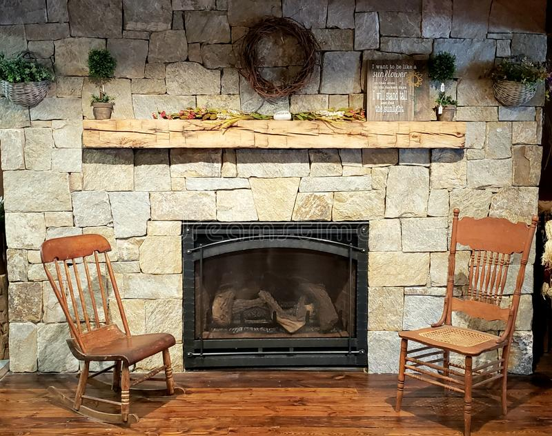 fireplace fotos de stock