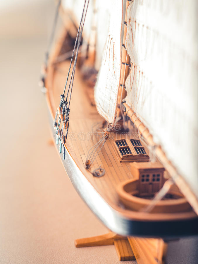 FireShipmodel royalty-vrije stock foto's