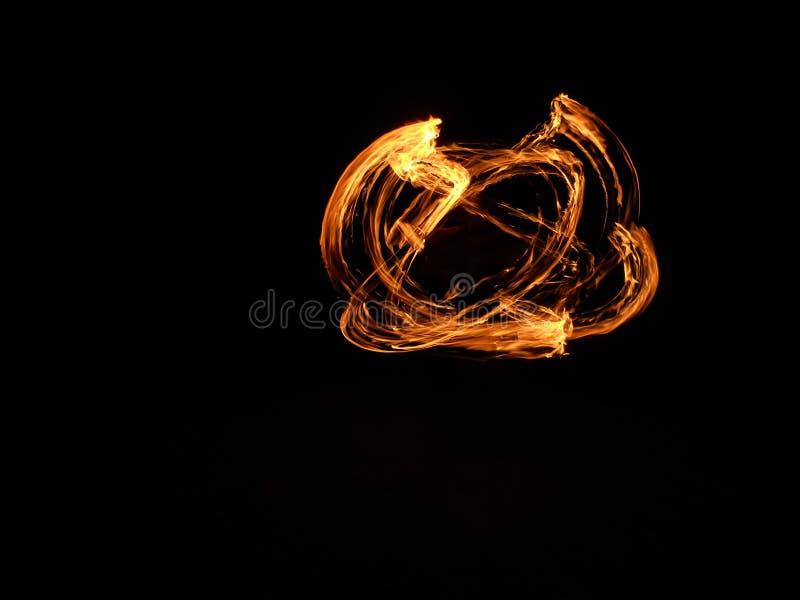 Fireshow στοκ φωτογραφίες με δικαίωμα ελεύθερης χρήσης