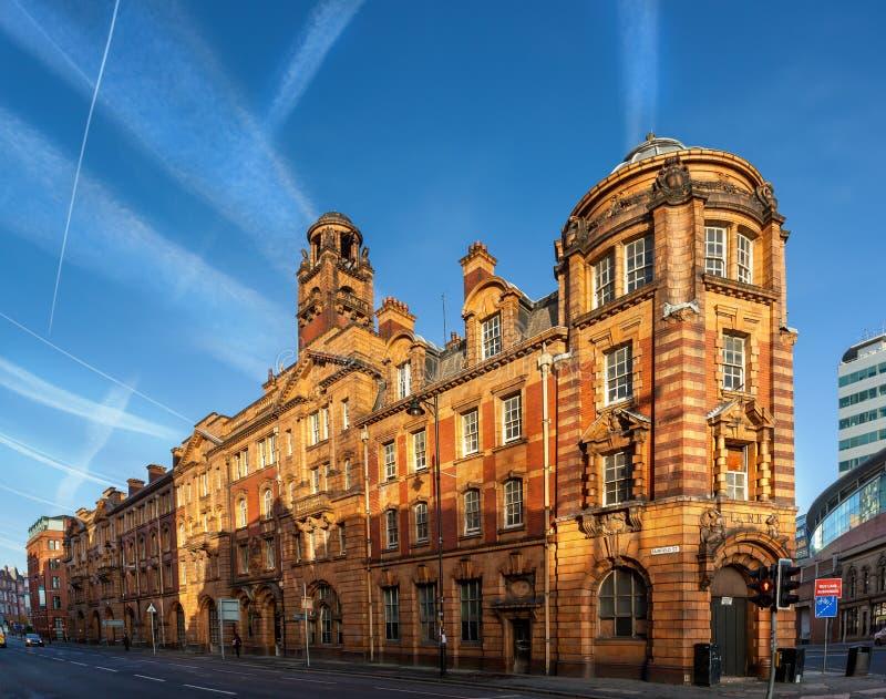 Firestation Manchester royaltyfri bild