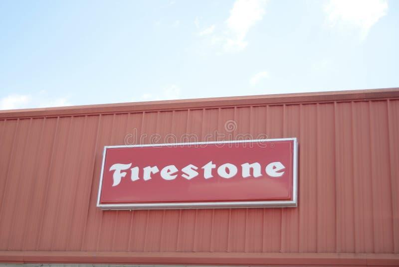 Firestone Автошина Компания стоковое изображение rf