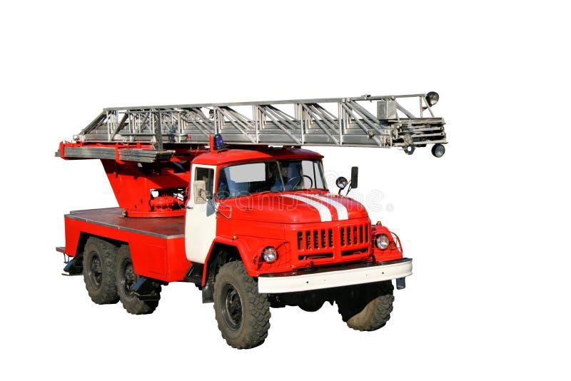 Firetruck stockfoto
