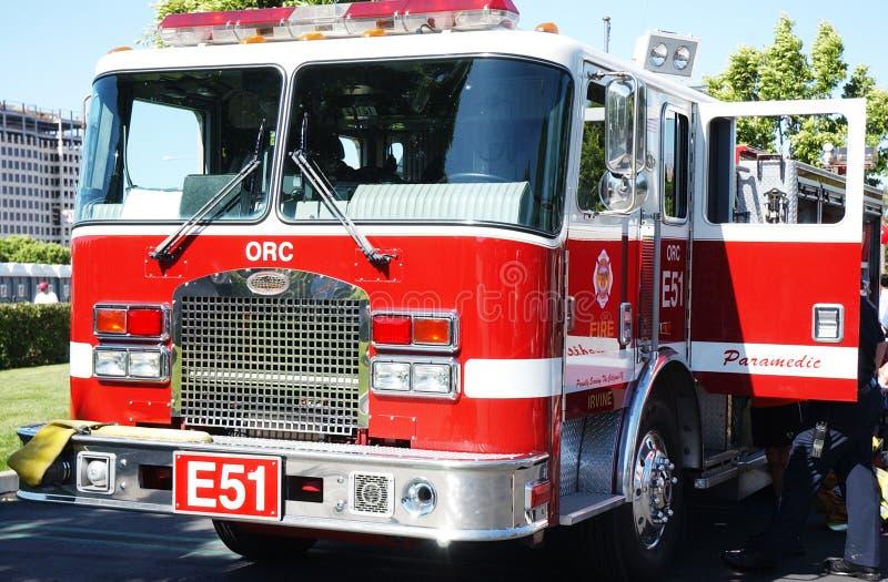 firetruck obraz stock