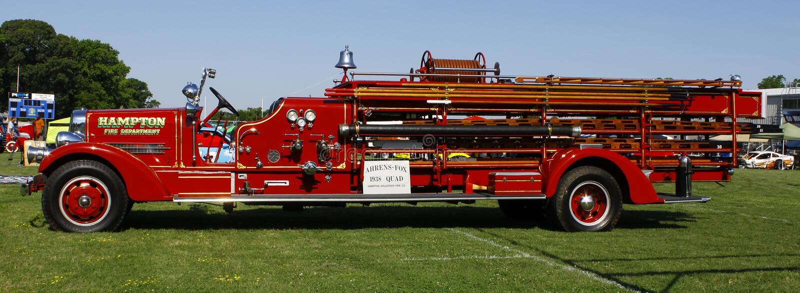 Firetruck image stock
