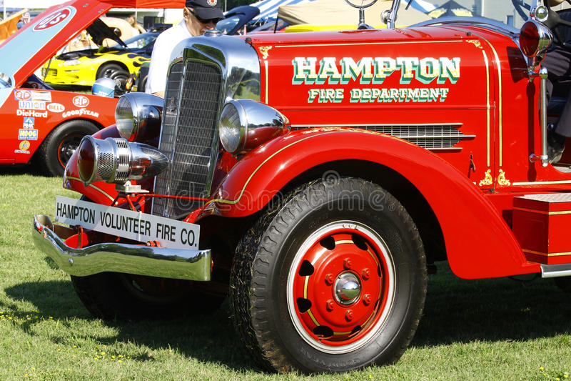Firetruck stock photography