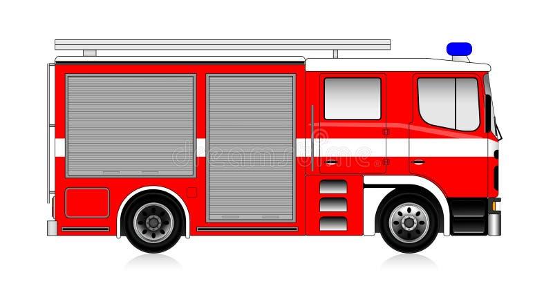 Firetruck illustration stock