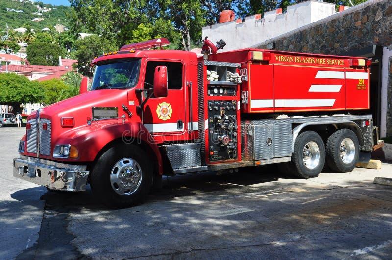 Firetruck stockbild