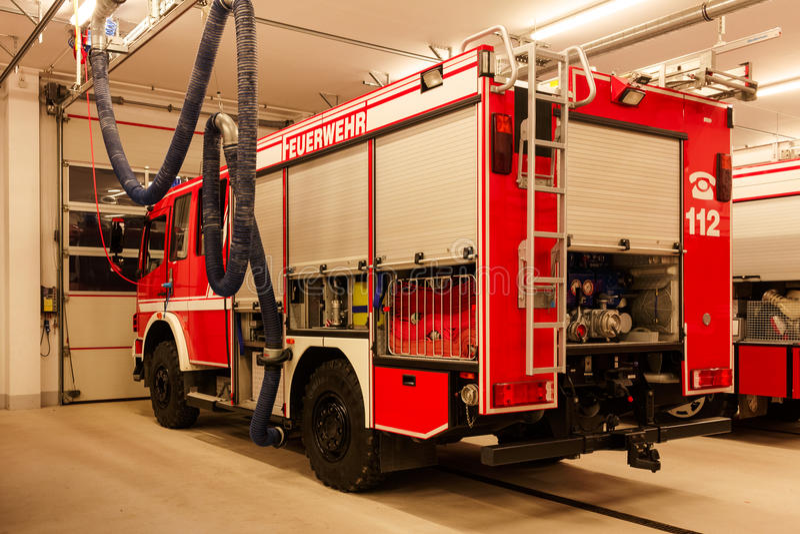 firetruck photographie stock