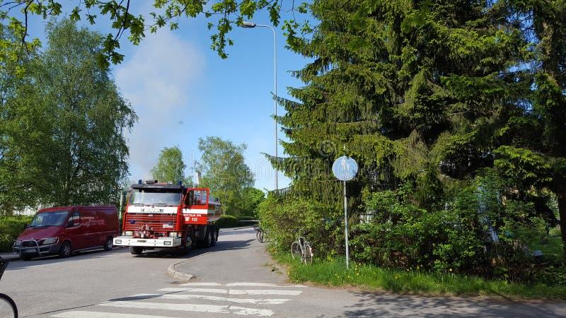 firetruck lizenzfreie stockfotografie