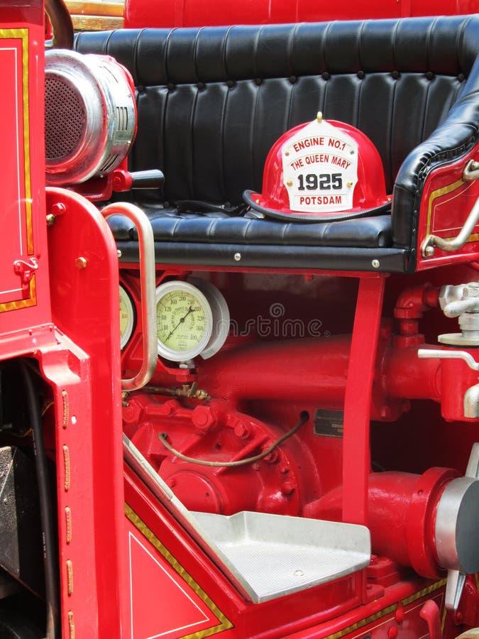 Firetruck dell'annata immagini stock libere da diritti