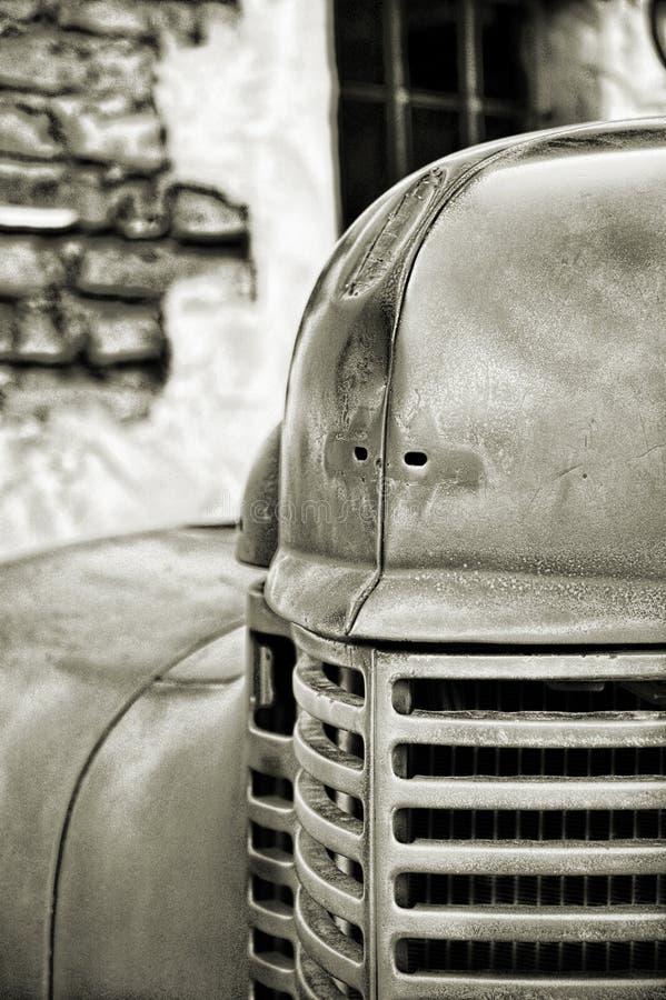 Firetruck do vintage imagem de stock