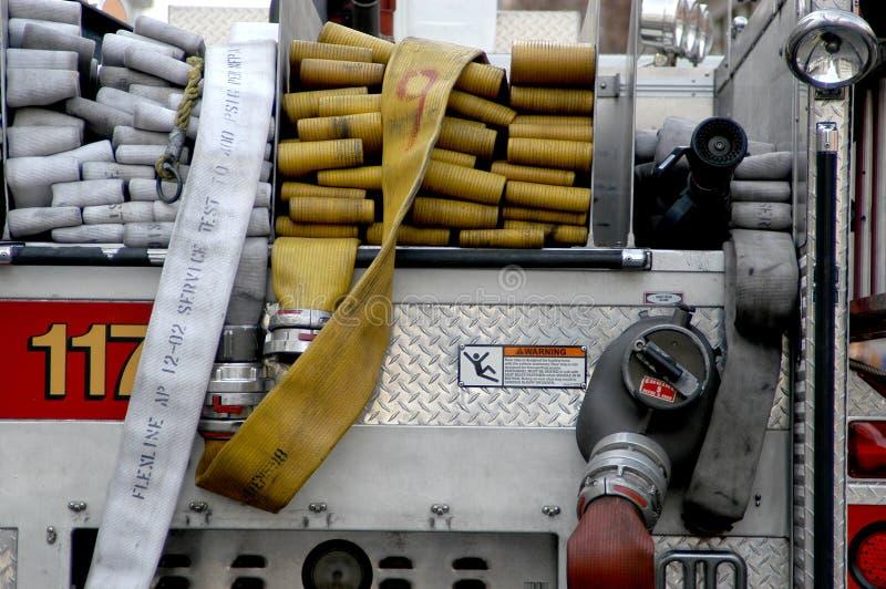firetruck hose στοκ εικόνα με δικαίωμα ελεύθερης χρήσης