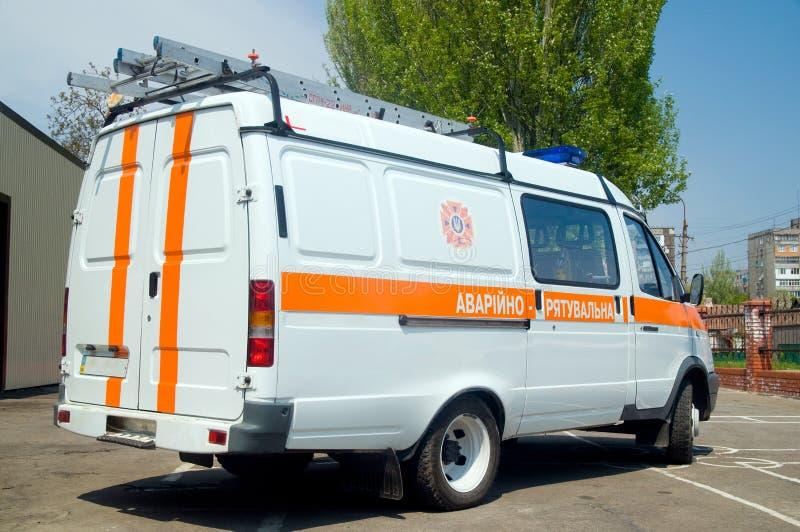 Firetruck russe image libre de droits