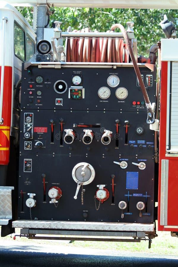 firetruckinstrument royaltyfria bilder
